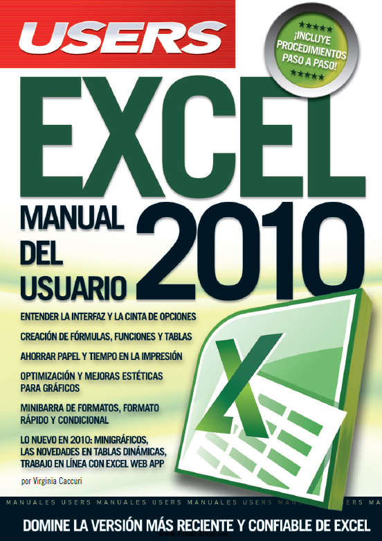 Book Cover: Excel 2010