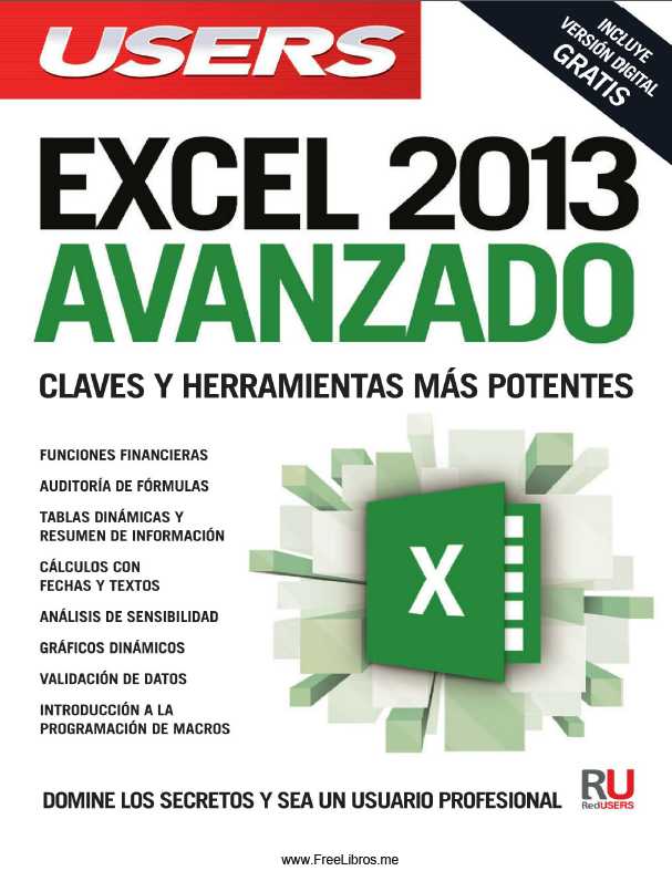 Book Cover: Excel 2013 Avanzado